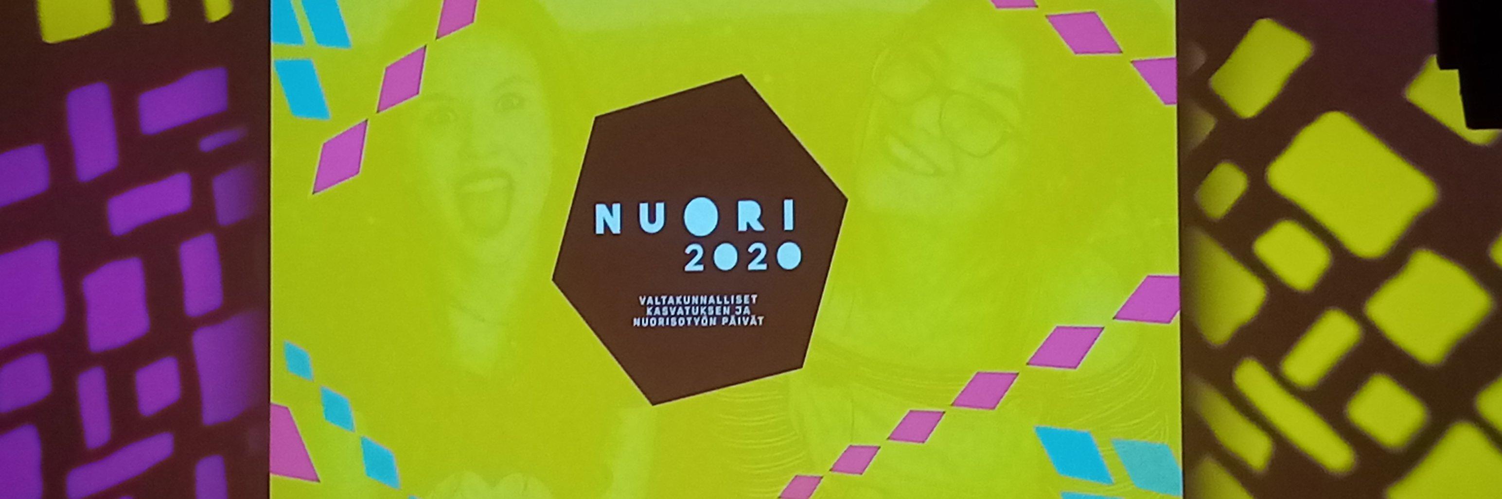 Lava jonka keskellä olevassa näytössä lukee Nuori 2020